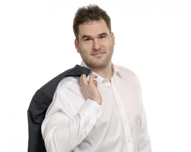 Moderátor Vojtěch Bidrman