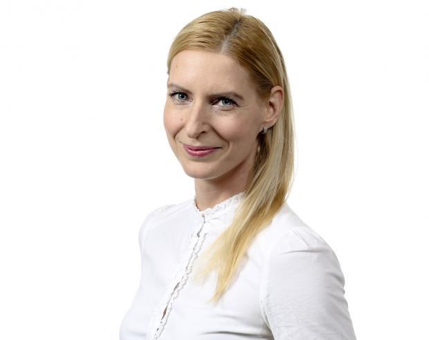 Moderátorka Karolína Koubová