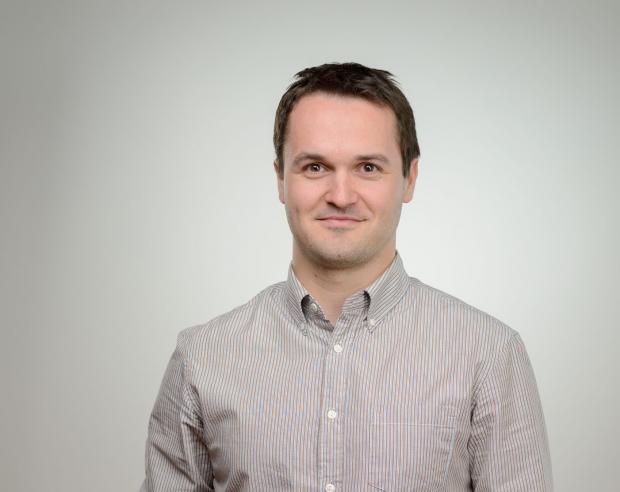 Jakub Marek, redaktor Českého rozhlasu.