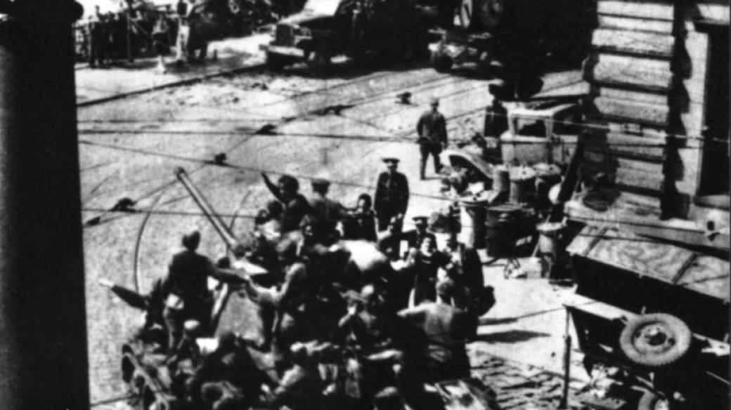 Rozhlas a květnové povstání 1945