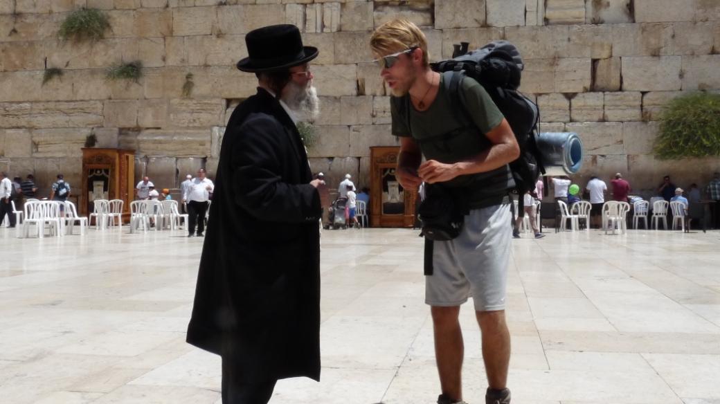 Ladislav Zibura na své cestě přes Turecko a Izrael