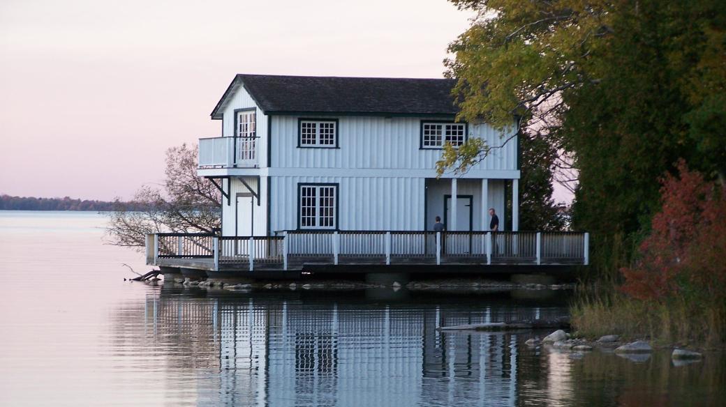 Dům Stephena Leacocka na Old Brewery Bay v Orillii, Ontario
