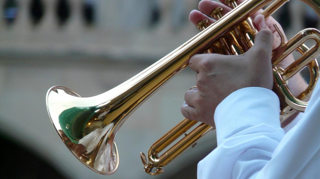 Dechovka, trubka, muzikant