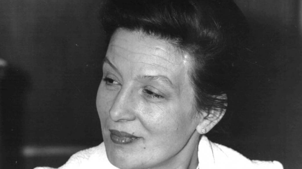 Dana Medřická v roce 1966