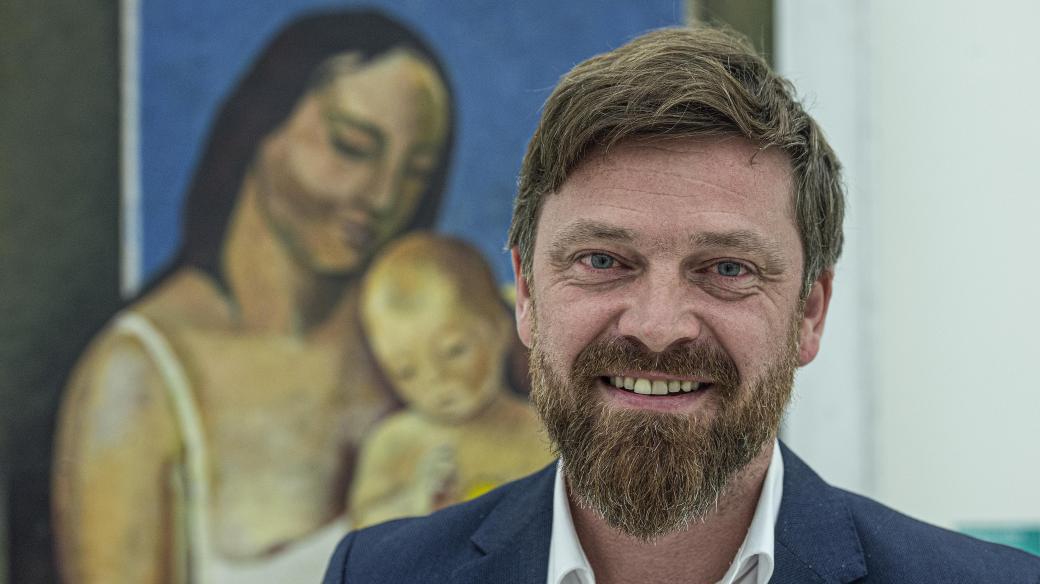 Ředitel Oblastní galerie Liberec Jan Randáček