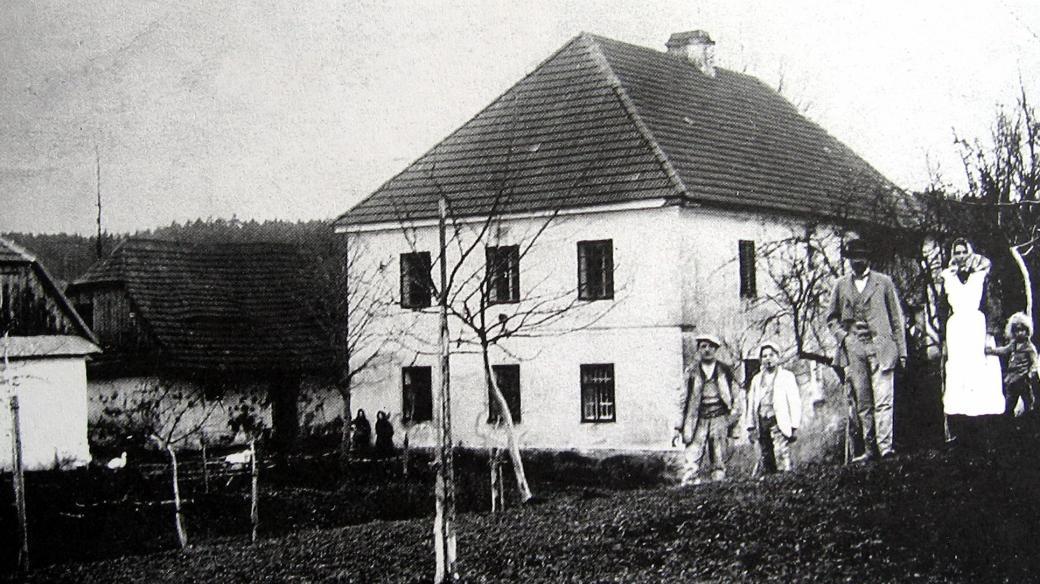 Ležáky, Švandův mlýn (snímek z r.1915)