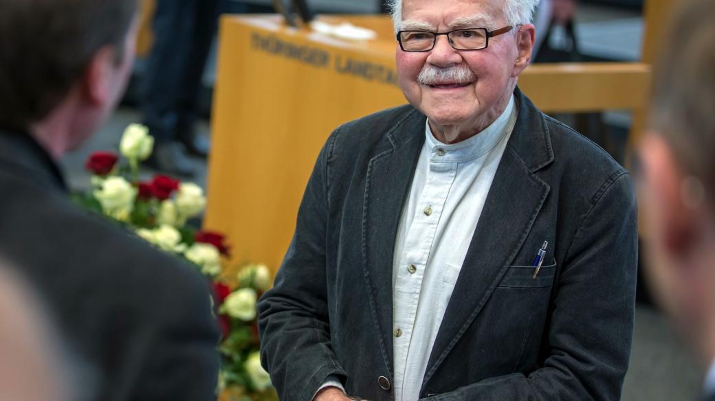 Pavel Kohn v roce 2015 v Erfurtu