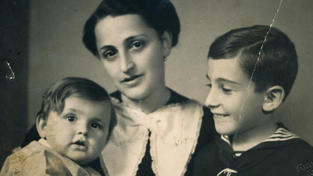 Ivan Lefkovits, Alžběta Lefkovitsová, Pavel Lefkovits (1938)