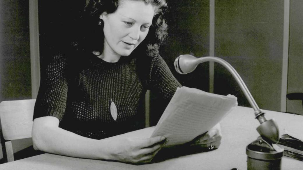 Margarete Schellová, pražská Němka, divadelní a rozhlasová herečka a publicistka