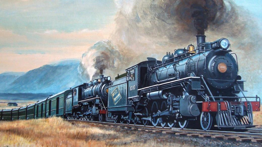 John Michael Crichton: Velká vlaková loupež