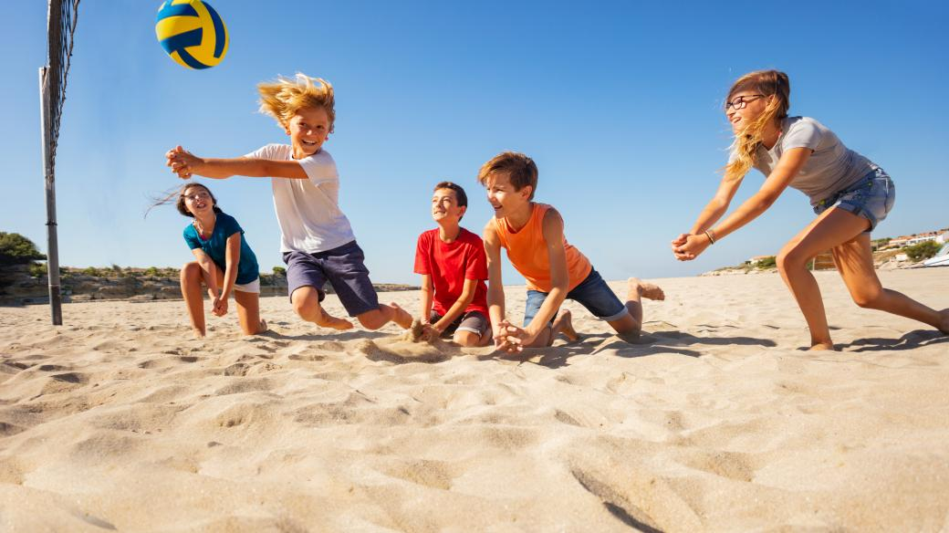 Máte rádi plážový vojelbal?