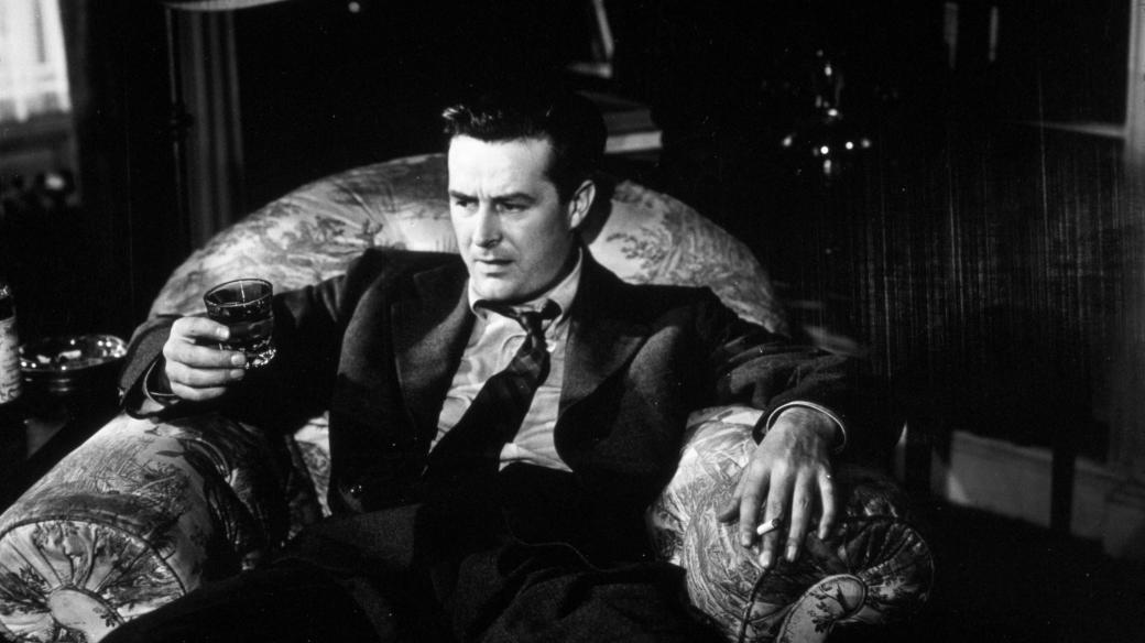 Ray Milland ve filmu The Lost Weekend (1945)