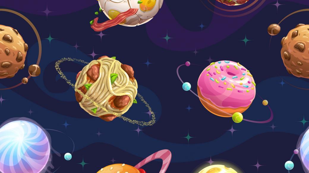 Planetka pojmenovaná po jídle? Proč ne!