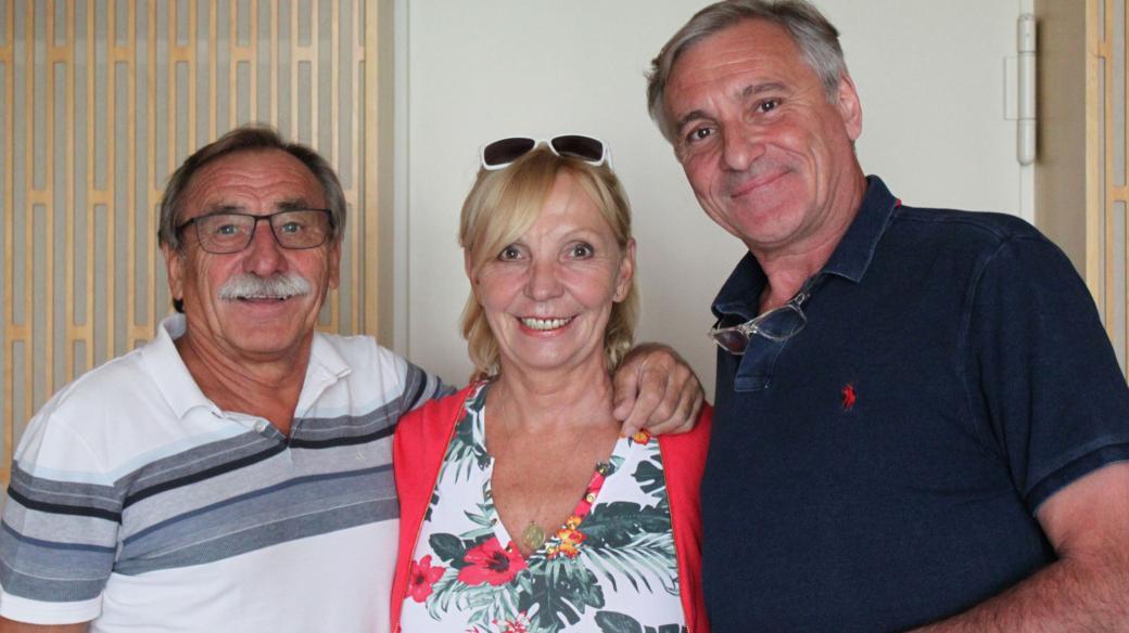Pavel Zedníček, Hana Kousalová a Jan Čenský