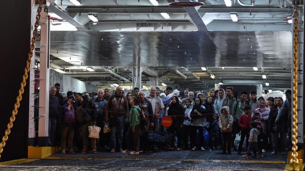 Syrští uprchlíci