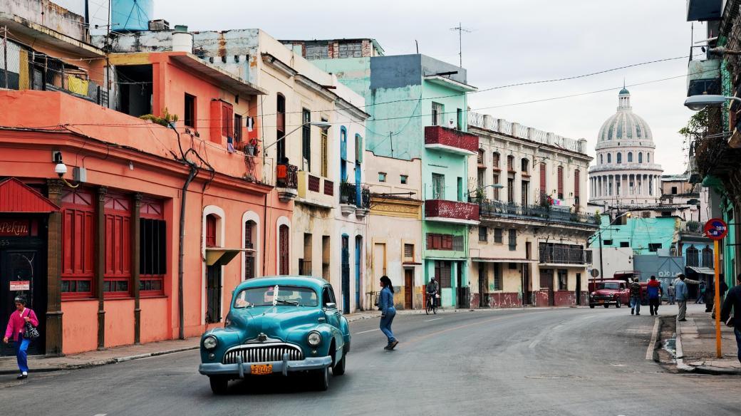 Havana, hlavní město Kuby