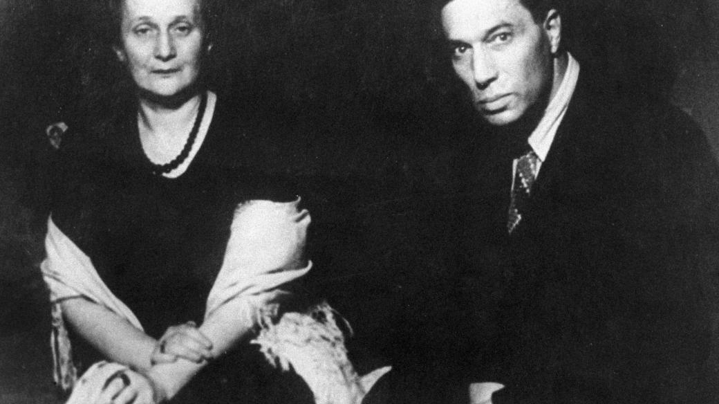 Básníci Anna Achmatovová a Boris Pasternak