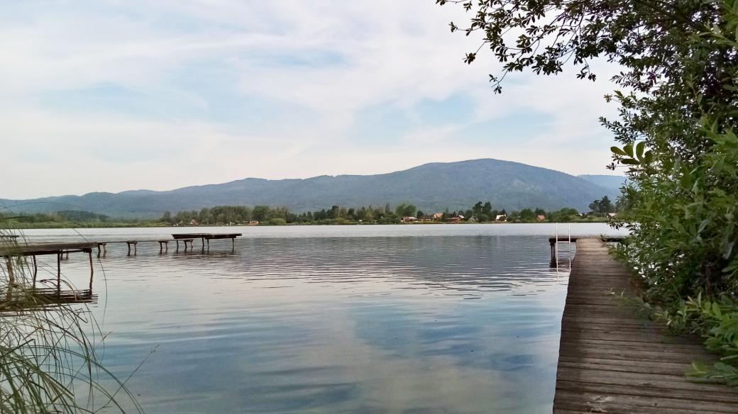 Velký rybník na Karlovarsku