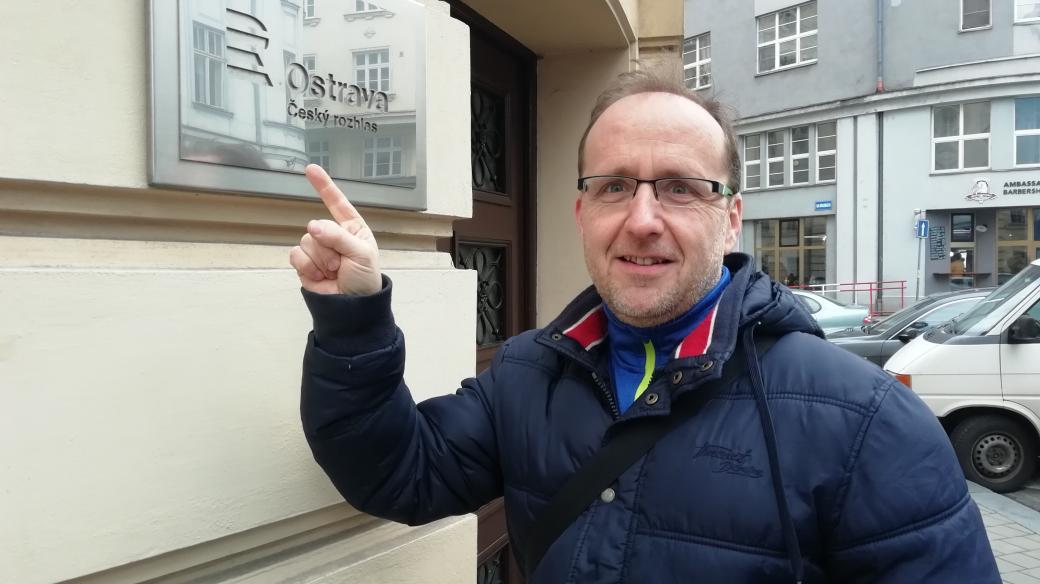 Marek Hýža z nadačního fondu Historie dobrodružství