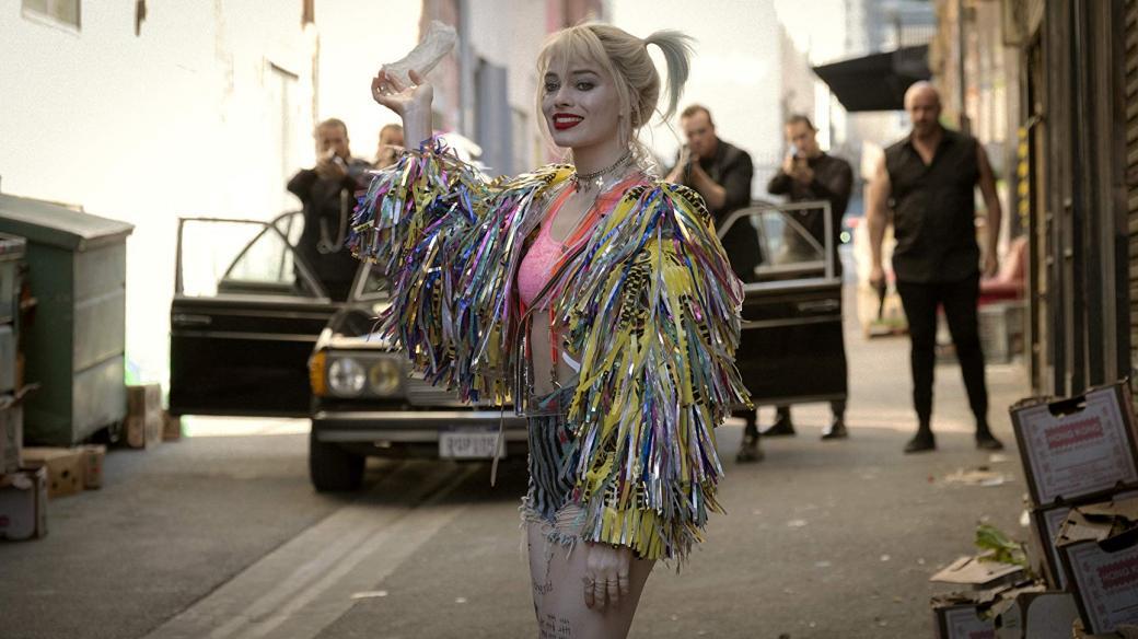 Z filmu Podivuhodná proměna Harley Quinn