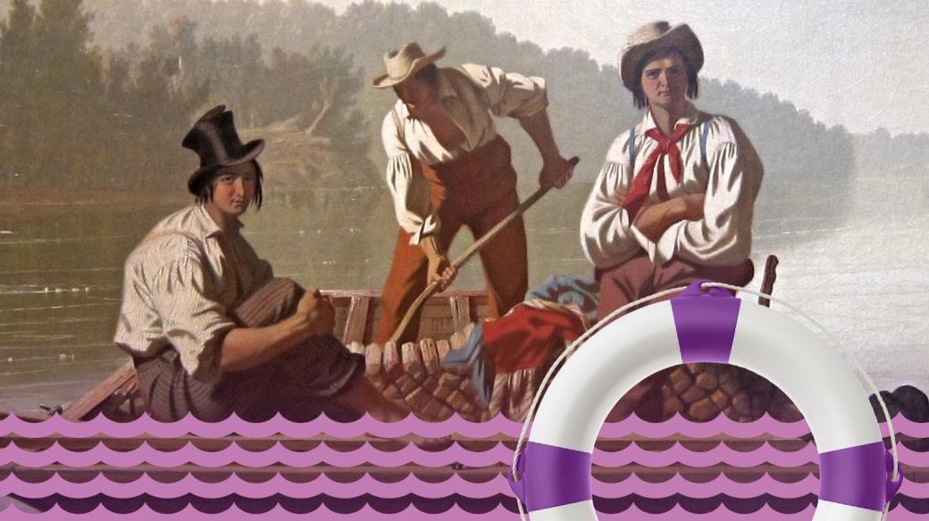 Jerome Klapka Jerome: Tři muži ve člunu (o psu nemluvě)