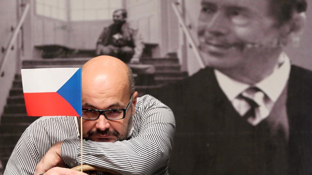 Vladimír Morávek, ředitel divadla Husa na provázku (2013)