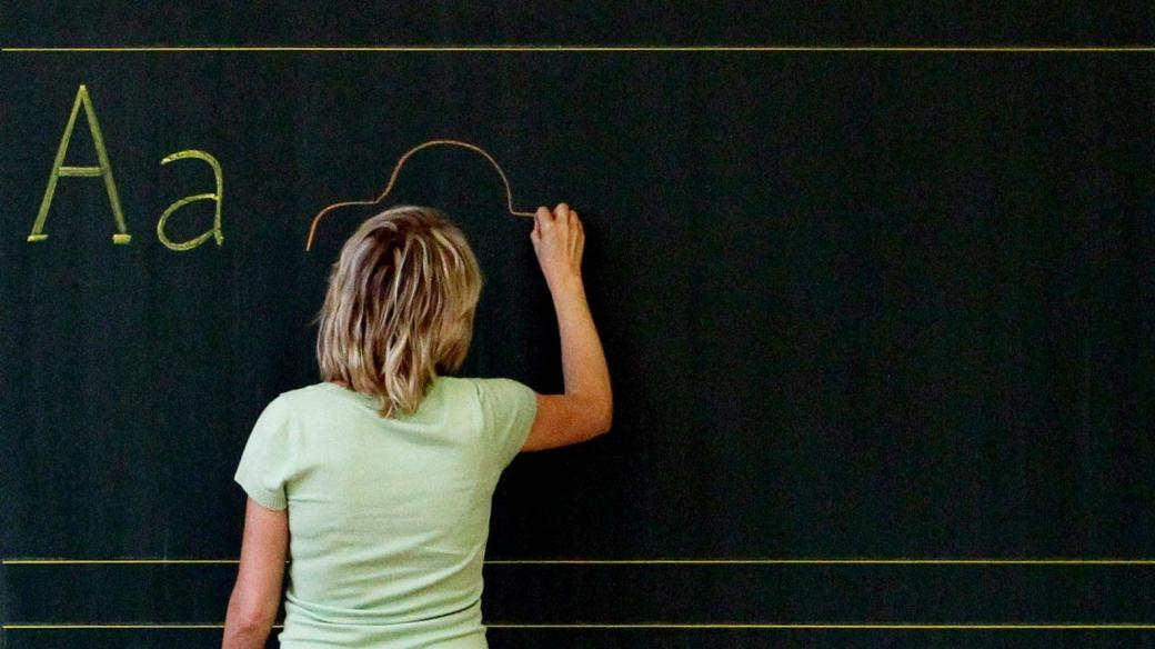 Učitelka (ilustrační foto)