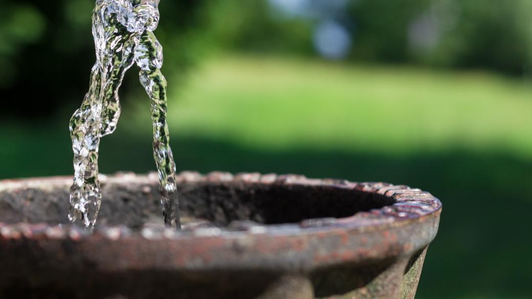Pítko - pitná voda - město