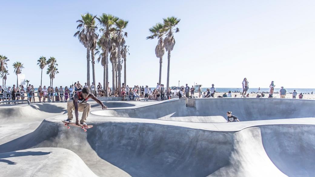 Mekkou skateboardistů je Kalifornie