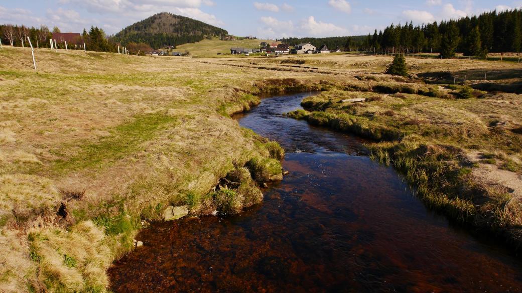 Horská osada Jizerka v Libereckém kraji