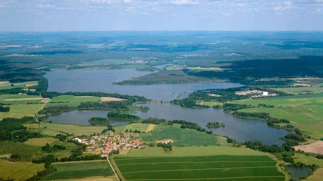 Rybník Rožmberk, jižní Čechy