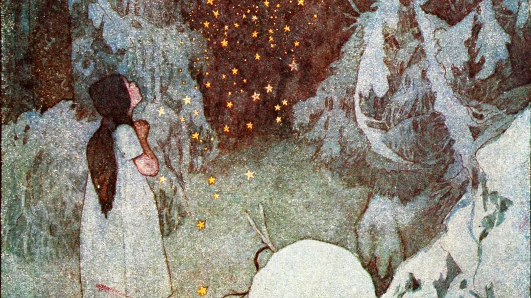 Ilustrace Artuše Scheinera k pohádkám Boženy Němcové