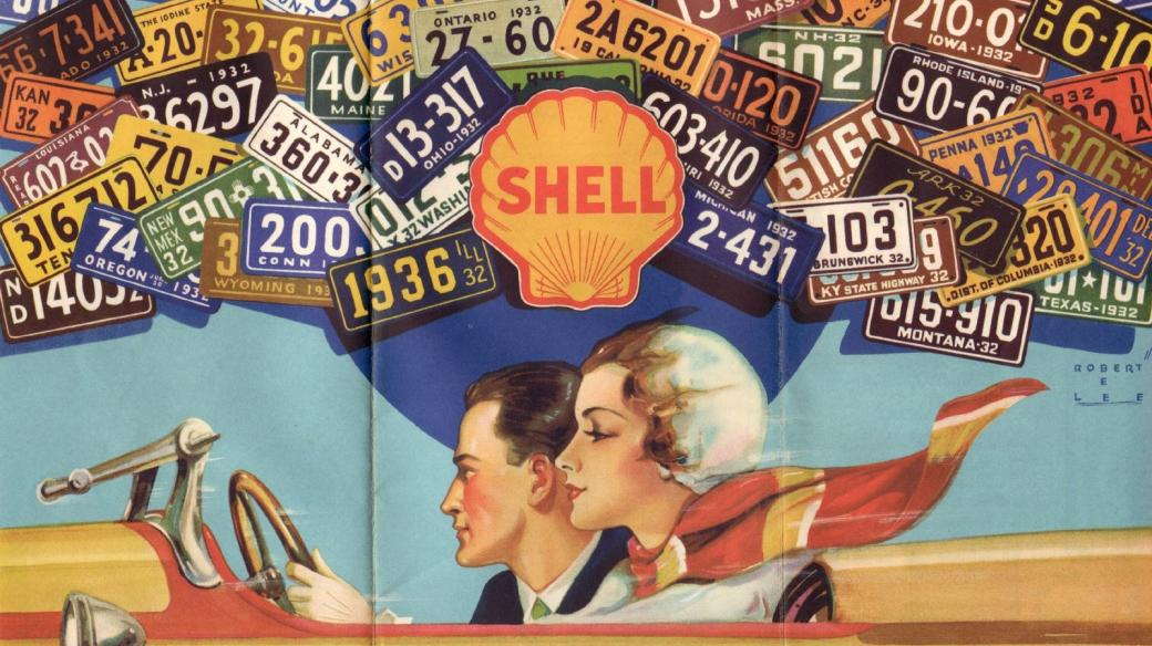 Shell Metropolitan Map New Orleans