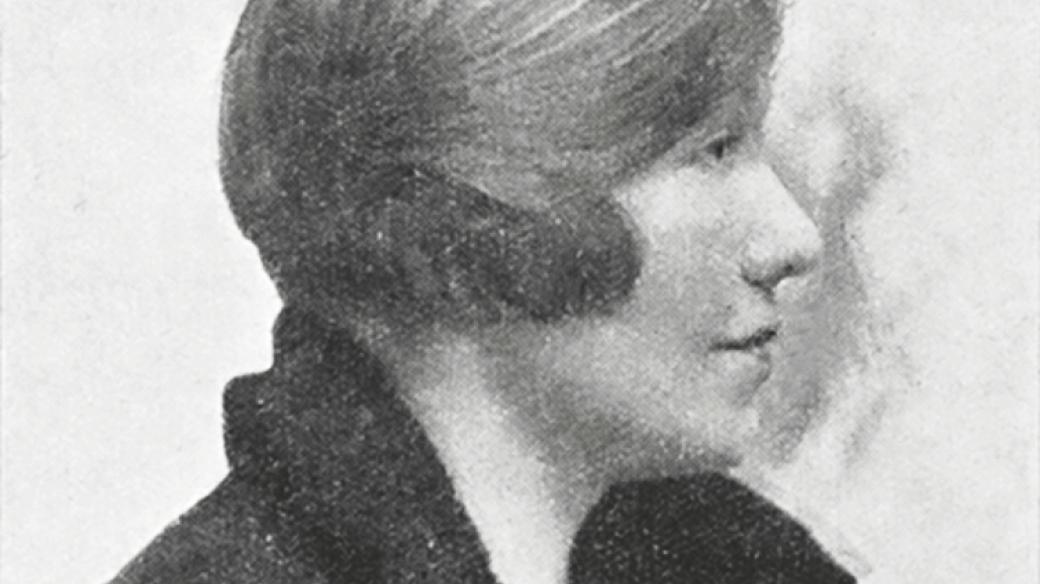 Marie Fantová (1893–1963), česká novinářka a překladatelka (foto před rokem 1925)