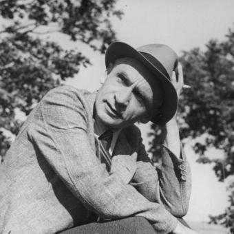 Spisovatel Jan Weiss (cca 1942)