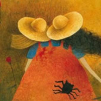 Strašidelné prázdniny (výřez ilustrace z obálky stejnojmenné knihy)