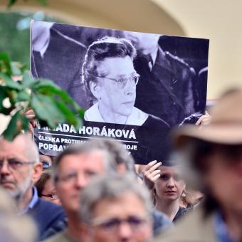 Pieta u příležitosti výročí popravy Milady Horákové