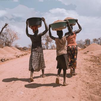 Afrika. Afričané. Ilustrační foto