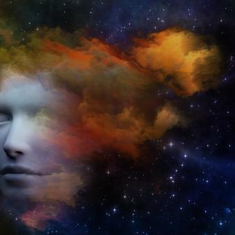 Mozková mlha, mysl, sny, myšlení, vědomí, představivost (ilustrační foto)