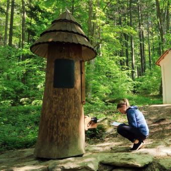 Zázračná studánka na Křemešníku