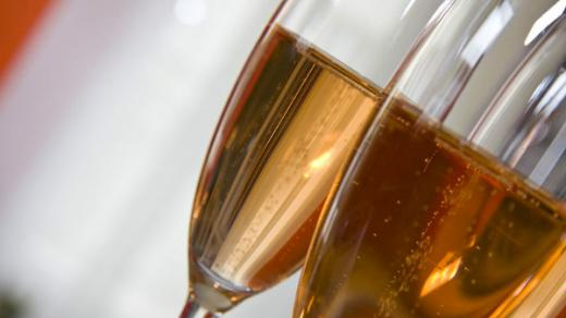 Růžové šampaňské