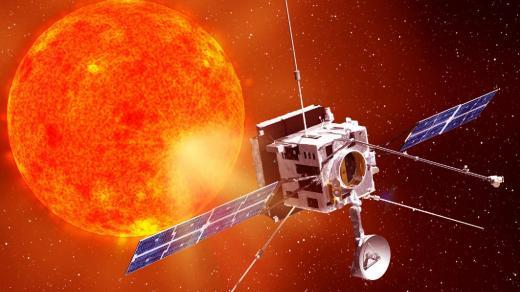 Animace družice Solar Orbiter