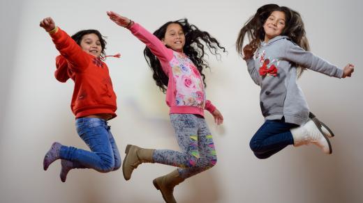 Romské děti z chrudimského projektu Šance pro tebe