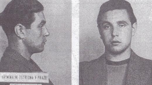 Dvacetiletý Antonín Frejka na detailu z policejní fotografie