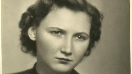 Mária Matejčíková koncem 50. let