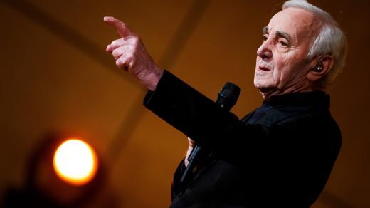 Šansoniér Charles Aznavour