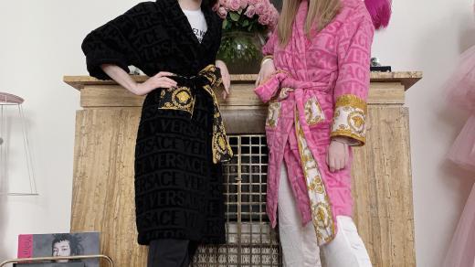 Vanda Janda a Boris Kral v karantenni módě