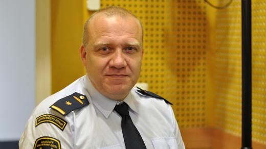 Tiskový mluvčí Hasičského záchranného sboru Praha Martin Kavka
