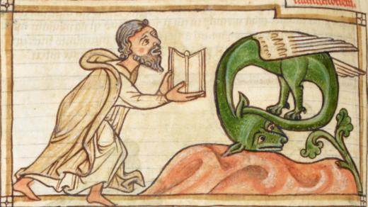 Herleyho Bestiář, Anglie 1230-1240 AD