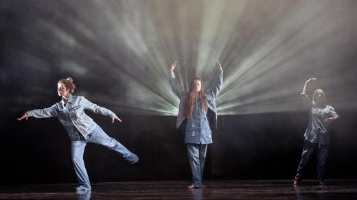 Z inscenace Faust, režie Jan Klata (Divadlo pod Palmovkou)